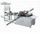 Plastic self seal bag machine