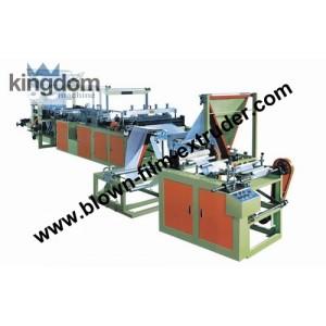 Одноручьевая пакетоделательная машина для производства толстостенных пакетов в рулоне