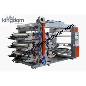 Флексографическая шестикрасочная печатная машина ярусного построения