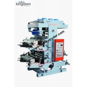 Флексографическая двухкрасочная печатная машина ярусного построения